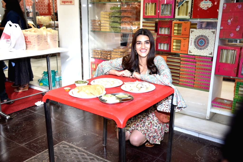 "Actress Kriti Sanon celebrates the success of her new film ""Luka Chuppi"" in Mumbai, on March 4, 2019. - Kriti Sanon"