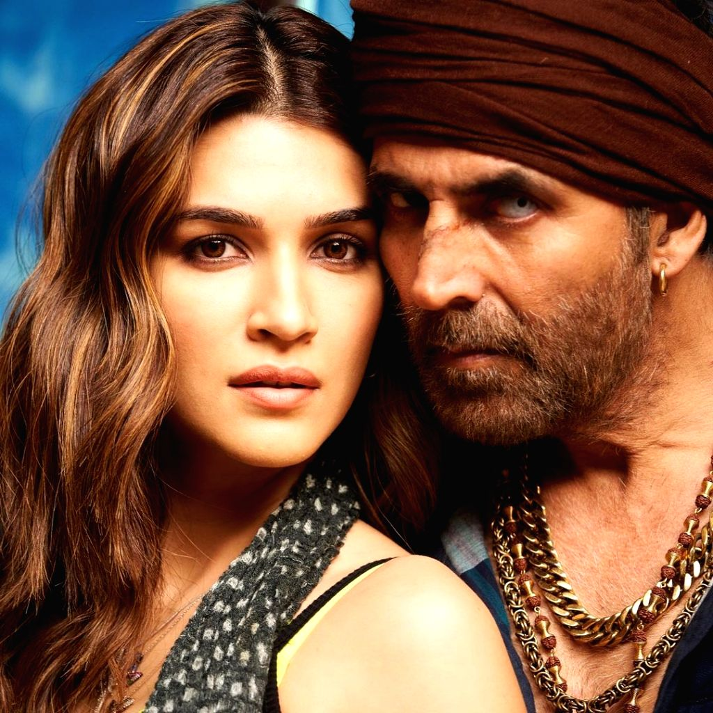 Actress Kriti Sanon has wrapped up shooting her portions for the upcoming action comedy Bachchan Pandey, starring Akshay Kumar. - Kriti Sanon, Bachchan Pandey and Akshay Kumar