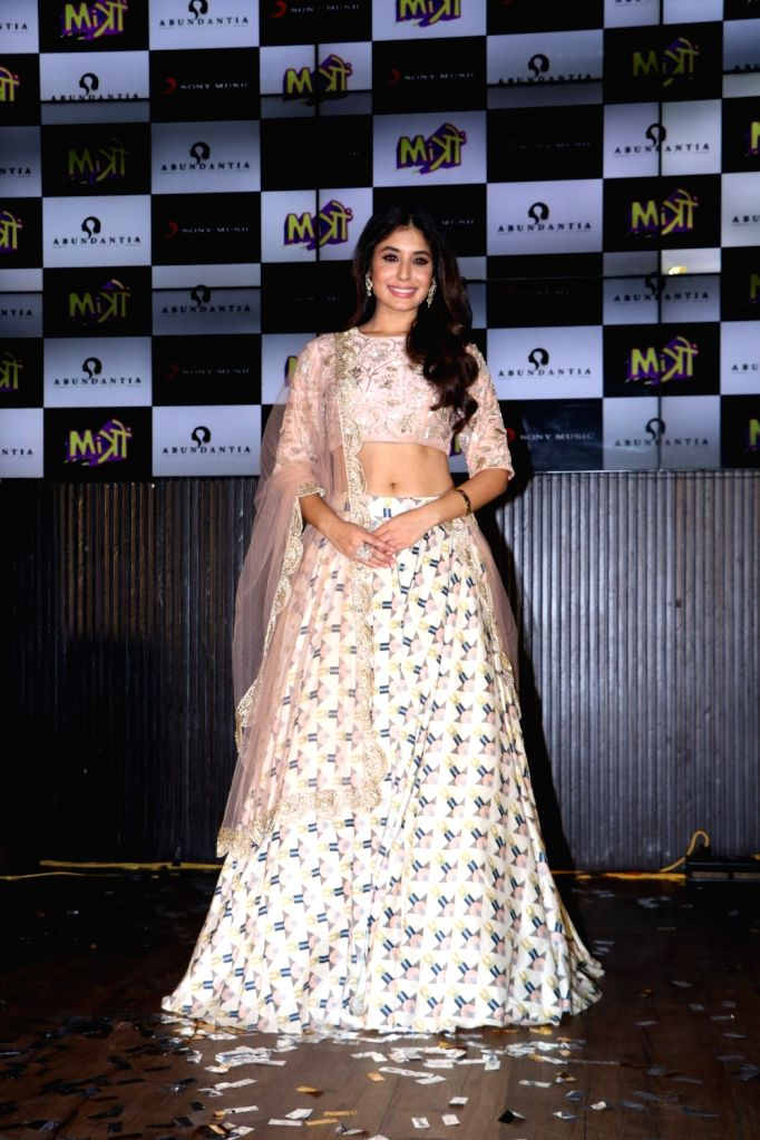 "Actress Kritika Kamra at the music concert of her upcoming film ""Mitron"" in Mumbai on Aug 31, 2018. - Kritika Kamra"