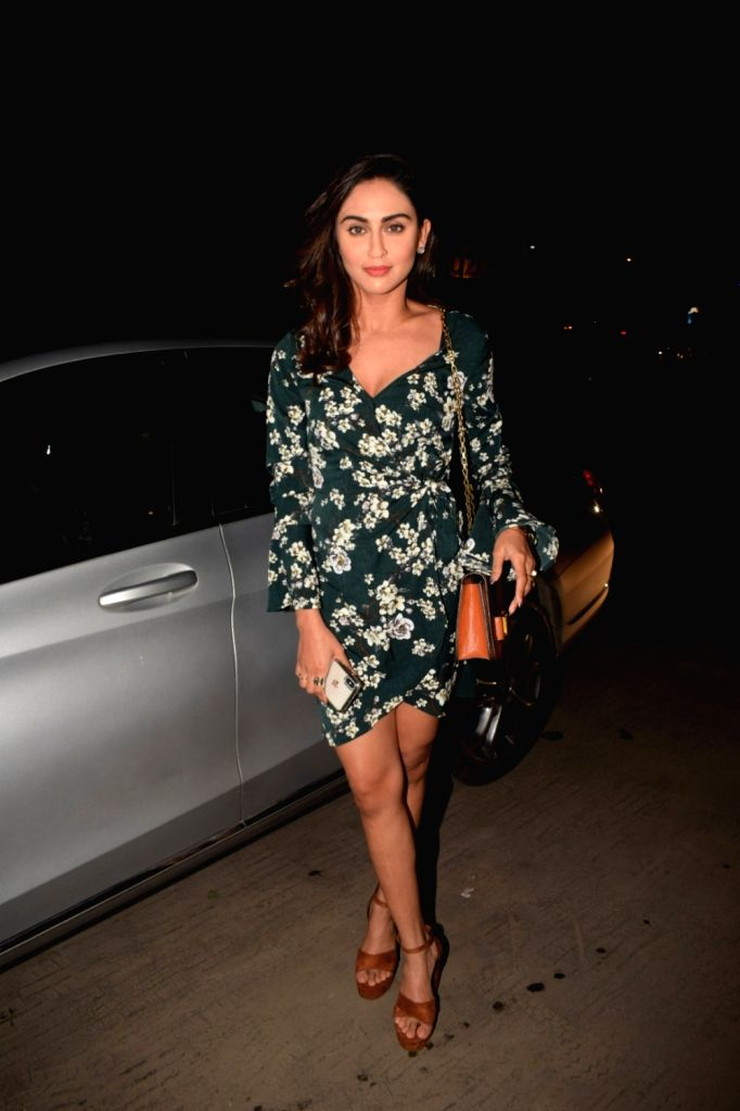 Actress Krystle D'Souza seen at Soho House in Juhu in Mumbai, on Dec 7, 2018. - Krystle D