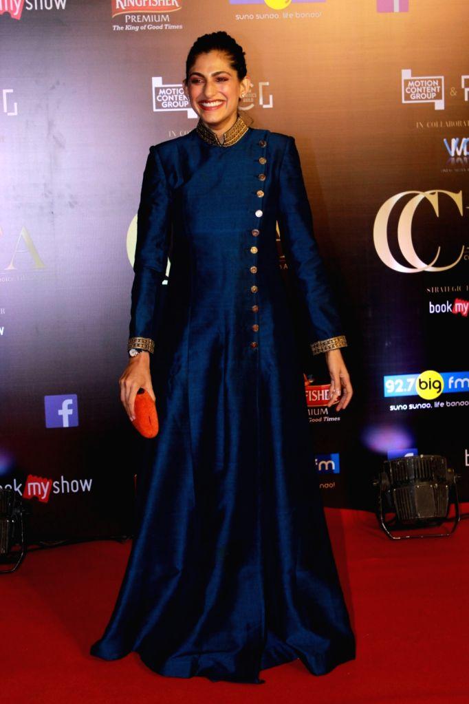 Actress Kubbra Sait on the red carpet of Critics' Choice Film Awards 2019, in Mumbai, on April 21, 2019. - Kubbra Sait