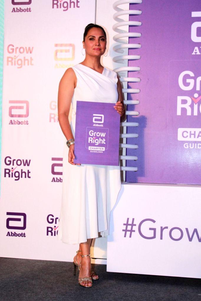 "Actress Lara Dutta at the launch of ""Grow Right"" campaign in Mumbai, on July 30, 2019. - Lara Dutta"