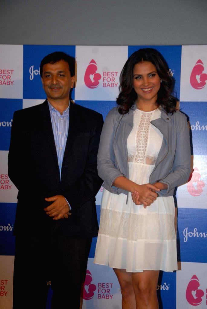 Actress Lara Dutta during a promotional programme in Mumbai, on Oct 20, 2016. - Lara Dutta