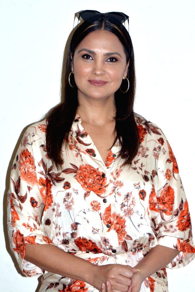 Actress Lara Dutta during a promotional programme in Kolkata on Feb. 2, 2019. - Lara Dutta