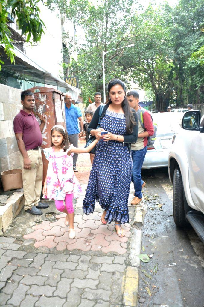 Actress Lara Dutta seen at Mumbai's Bandra,  on July 22, 2018. - Lara Dutta