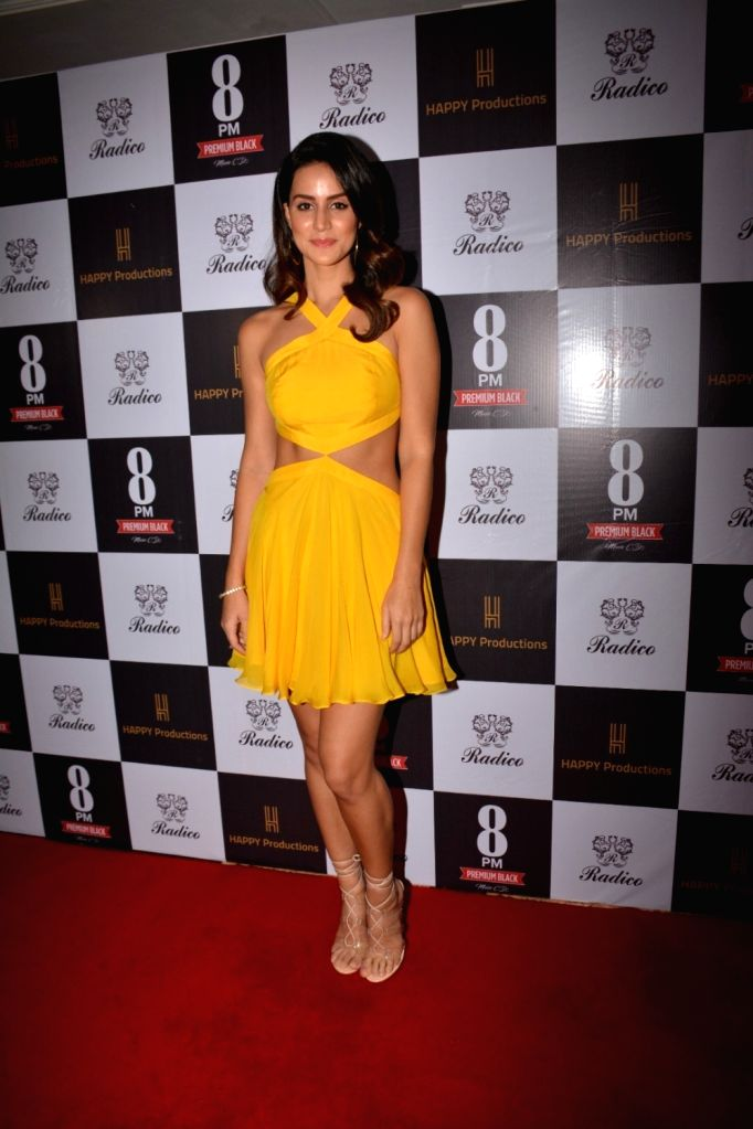 "Actress Larissa Bonesion during the song launch ""Are You Coming"" Bandra in Mumbai Feb. 1, 2019. - Larissa Bonesion"