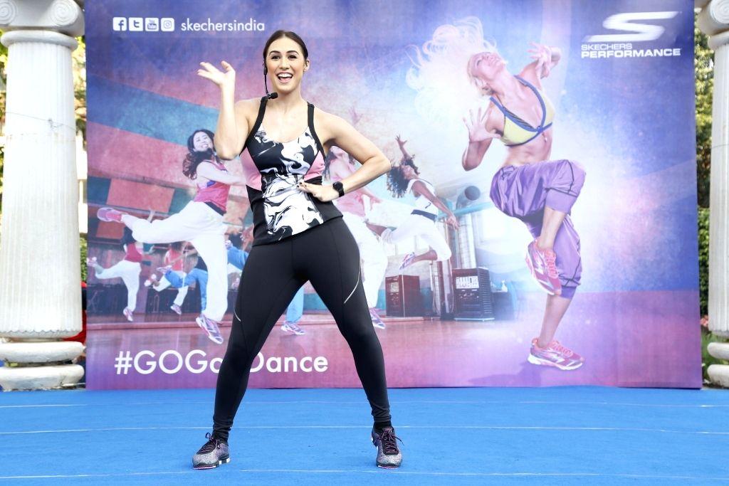 Actress Lauren Gottlieb at the skechers  Go Goa dance press conference - Lauren Gottlieb