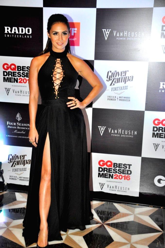 Actress Lauren Gottlieb during GQ Best Dressed Men 2016 Awards, in Mumbai, on June 2, 2016. - Lauren Gottlieb