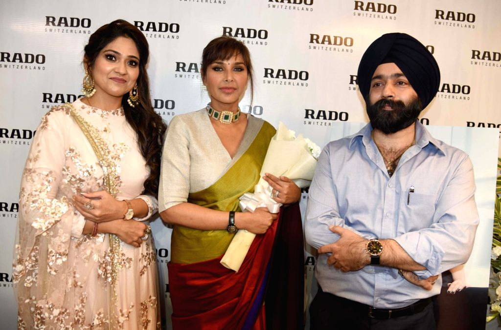 Actress Lisa Ray at the launch of festive collection of Rado watches, in Amritsar on Oct 10, 2019. - Lisa Ray