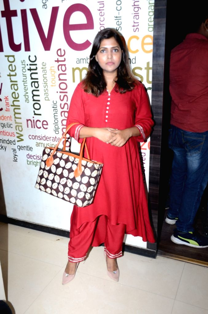 Actress Luviena Lodh arrives to address a press conference after filmmakers and brothers Mahesh Bhatt and Mukesh Bhatt filed a defamation suit in the Bombay High Court against her, in Mumbai ... - Luviena Lodh