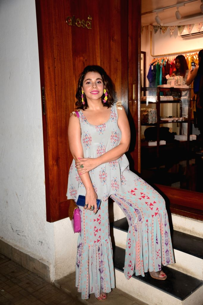 Actress Maanvi Gagroo at fashion designer Payal Singhal's store launch in Mumbai, on May 10, 2019. - Maanvi Gagroo