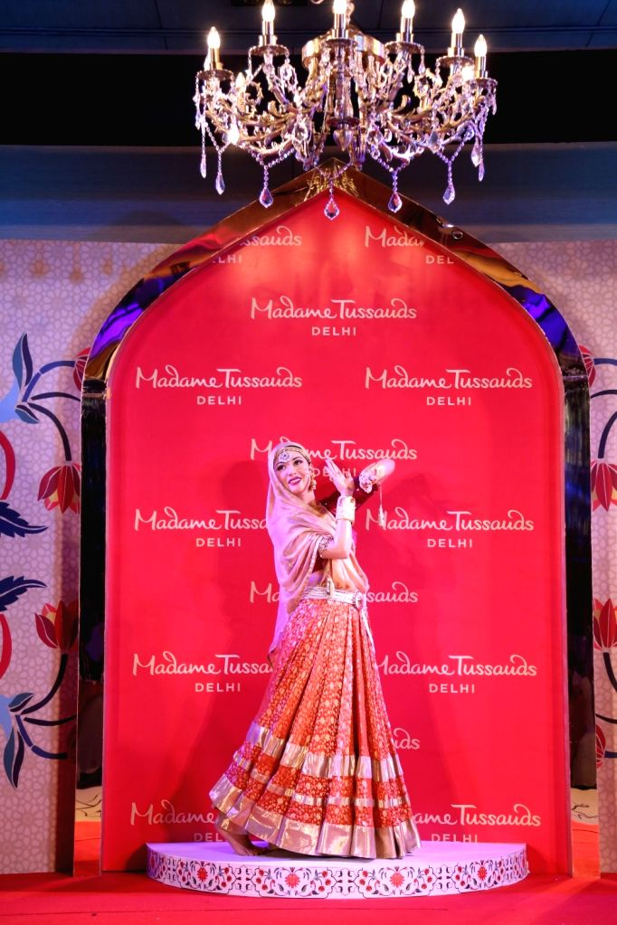 Actress Madhubala's wax statue at Madame Tussauds in New Delhi, on Aug 10, 2017. - Madhubal