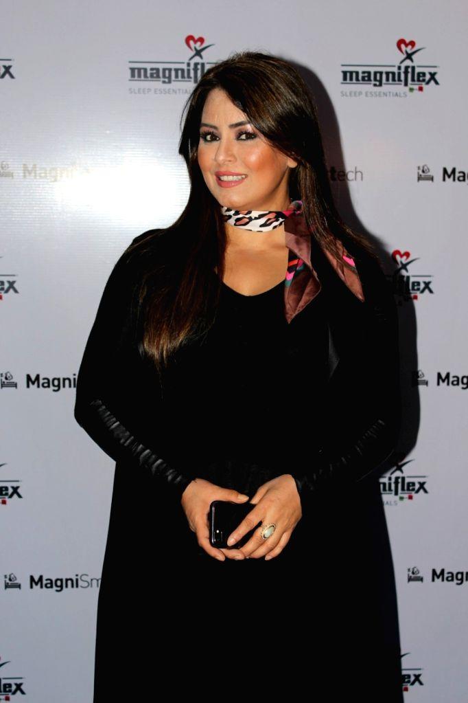 Actress Mahima Chaudhry at the launch of a mattress brand in Munbai on July 4, 2017. - Mahima Chaudhry