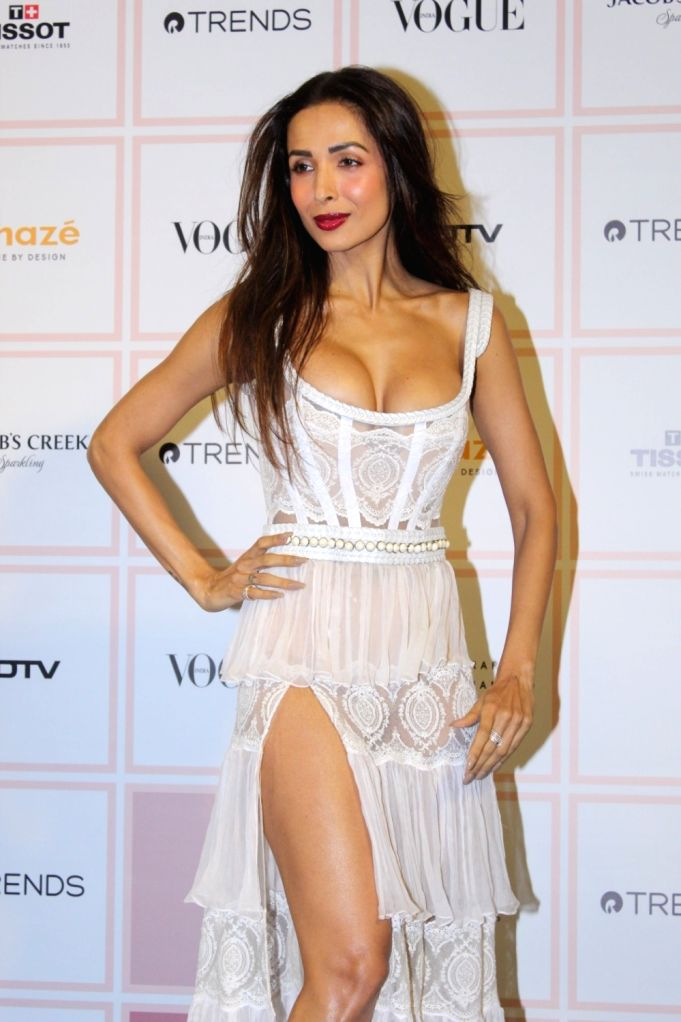 Actress Malaika Arora at 10th Vogue Beauty Awards in Mumbai on Sep 26, 2019. - Malaika Arora