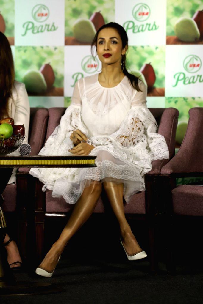 Actress Malaika Arora at a product launch programme in Mumbai on Dec 12, 2019. - Malaika Arora