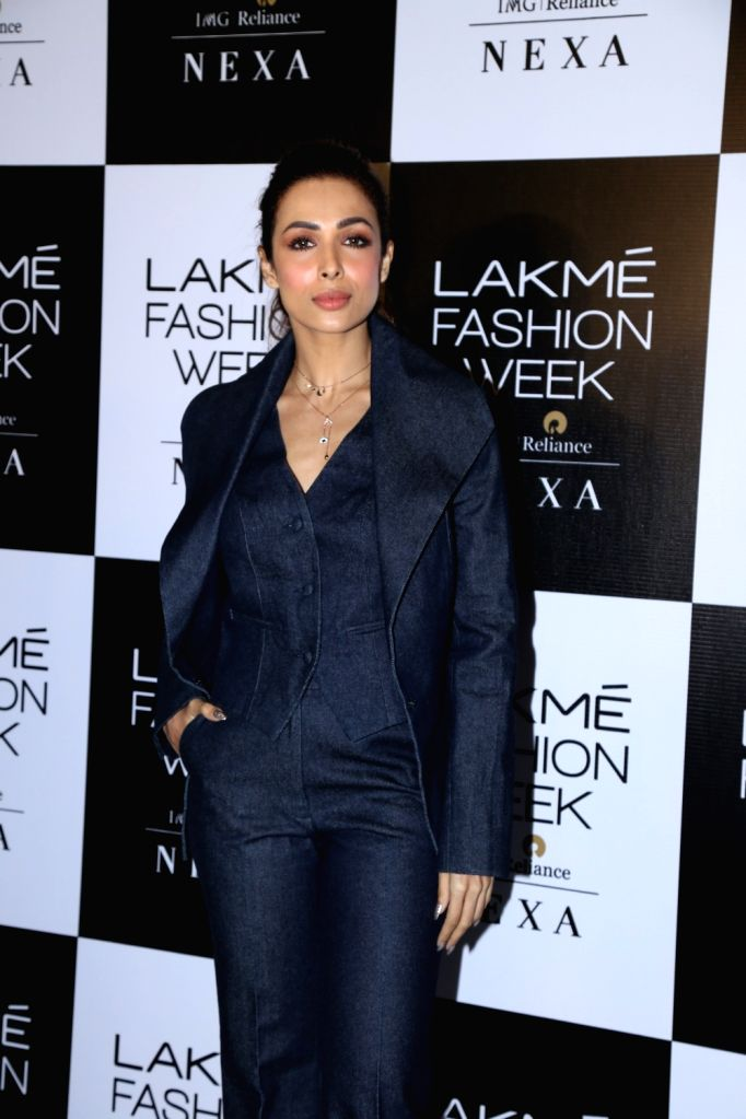 Actress Malaika Arora at the Lakme Fashion Week auditions in Mumbai on Dec 14, 2018. - Malaika Arora