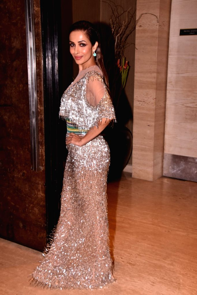 "Actress Malaika Arora Khan at star studded red carpet of ""Miss Diva Grand Finale"" in Mumbai on Oct 11, 2017. - Malaika Arora Khan"