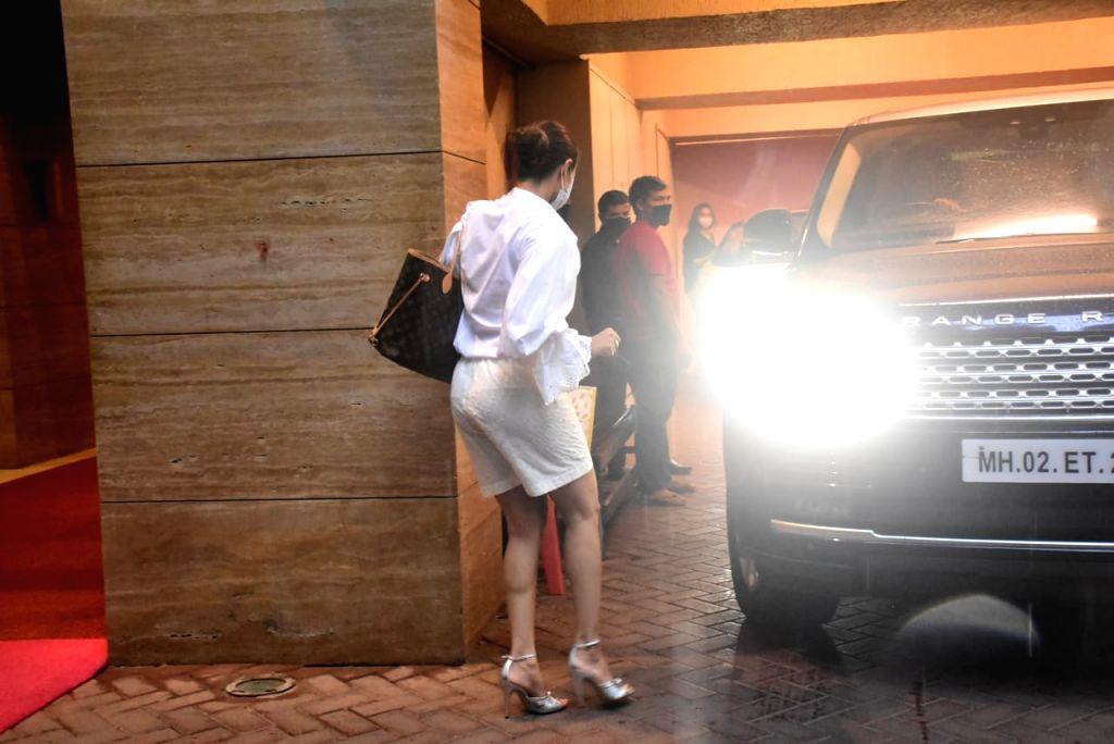 Actress Malaika Arora seen at Bandra in Mumbai on Oct 13, 2020. - Malaika Arora