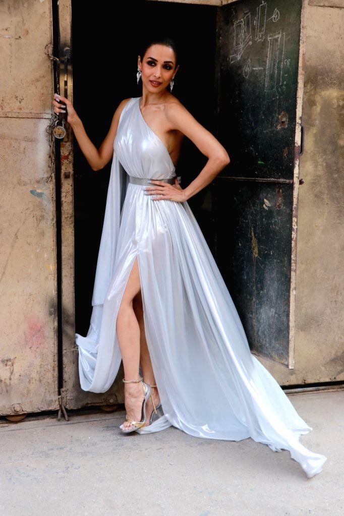 Actress Malaika Arora seen at filmistan in Mumbai, on Jan 23, 2020. - Malaika Arora