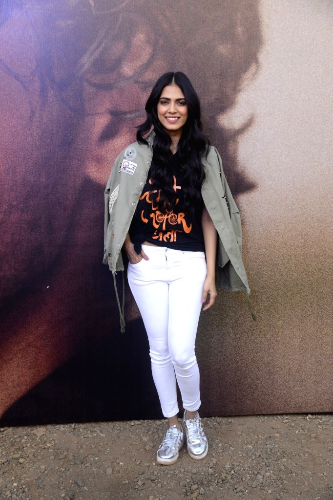 "Actress Malavika Mohanan at the song launch of her upcoming film ""Beyond the Clouds"" in Mumbai on April 6, 2018. - Malavika Mohanan"