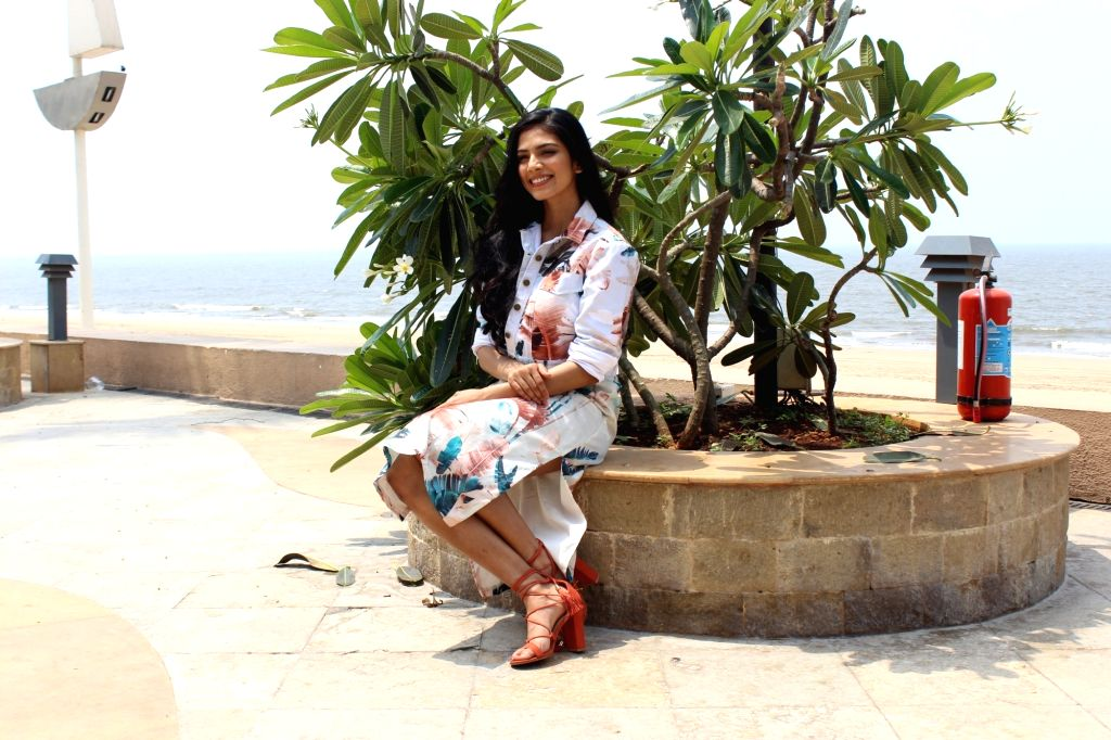 """Actress Malavika Mohanan during the promotion of her upcoming film """"Beyond The Clouds"""", in Mumbai on March 28, 2018. - Malavika Mohanan"""