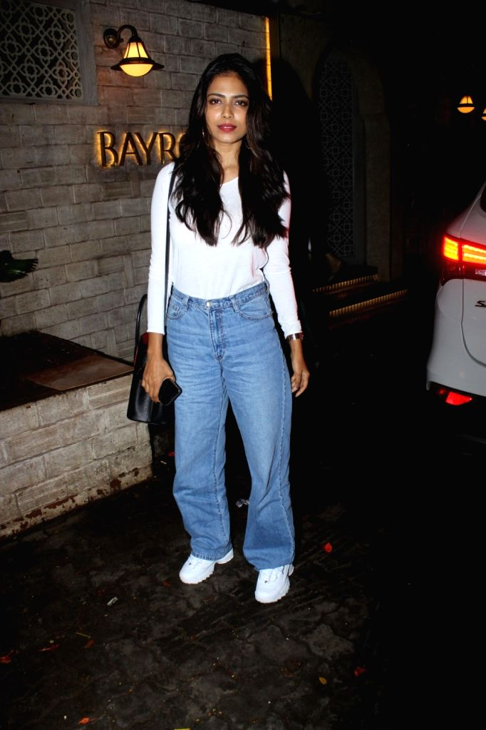 Actress Malavika Mohanan seen at Juhu, in Mumbai on June 18, 2019. - Malavika Mohanan