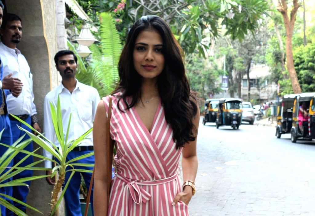 Actress Malavika Mohanan seen in Mumbai's Juhu, on May 12, 2019. - Malavika Mohanan