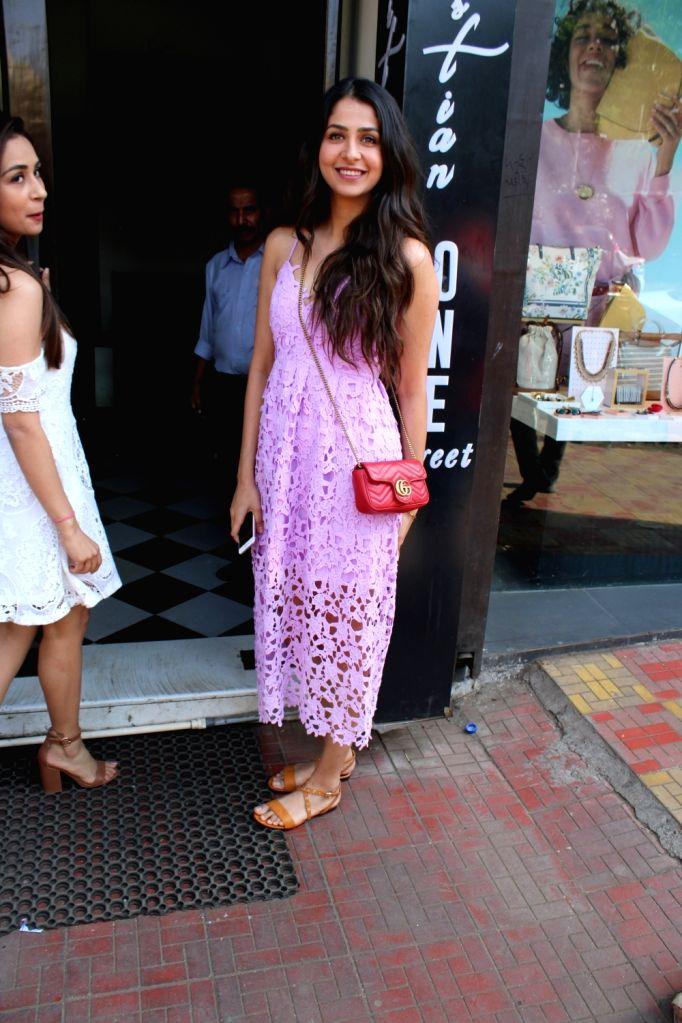 Actress Malvika Raaj seen in Mumbai's Bandra, on March 31, 2019. - Malvika Raaj