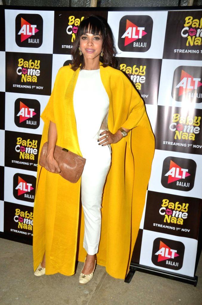 """Actress Manasi Scott at the screening of ALT Balaji's """"Baby Come Naa"""" web series in Mumbai on Oct 30, 2018. - Manasi Scott"""