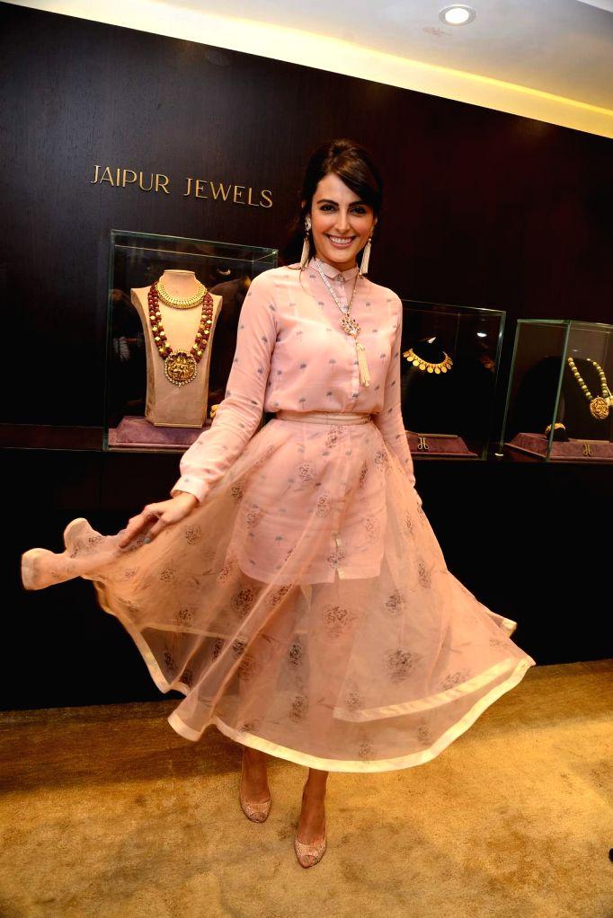Actress Mandana Karimi during the launch of Jewels new collection Rise Anew in Mumbai, on Aug 12, 2015. - Mandana Karimi