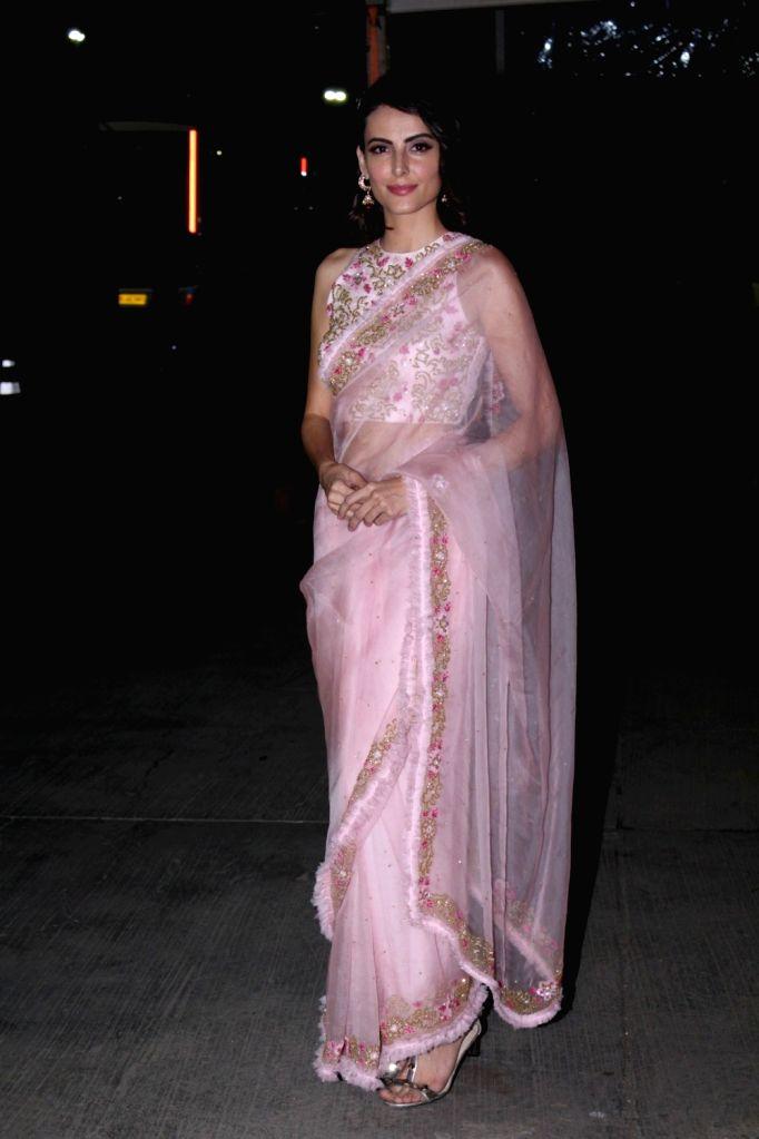 Actress Mandana Karimi Walks Ramp For Athea Krishna At Joya Fashion & Lifestyle Exhibition in Mumbai on Sept 12, 2017. - Mandana Karimi Walks Ramp For Athea Krishna A