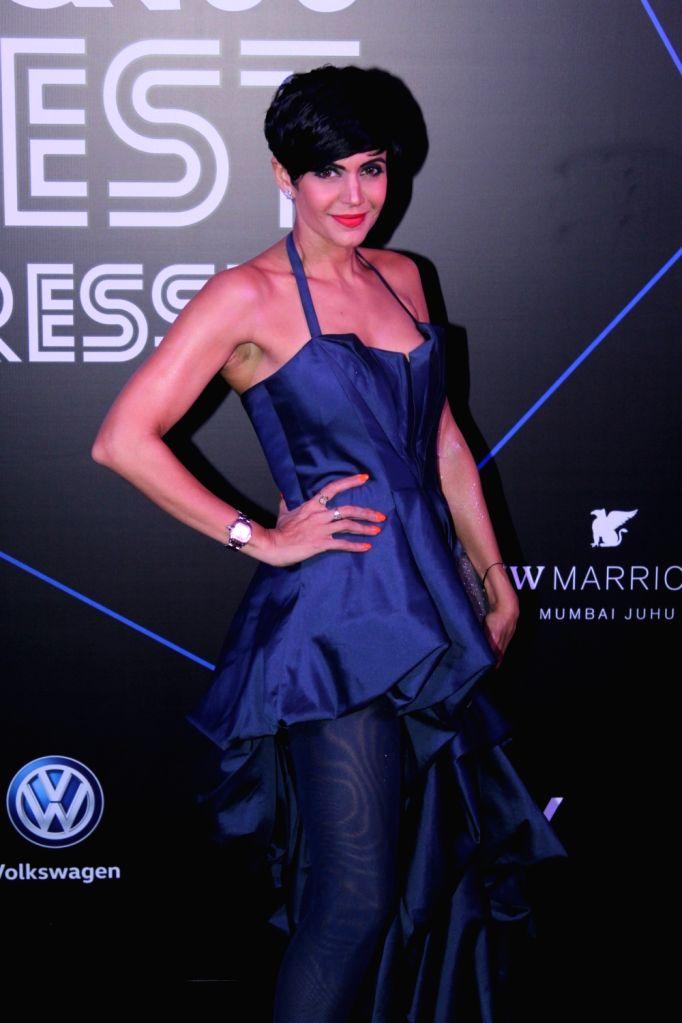 "Actress Mandira Bedi at ""GQ 100 Best Dressed Awards 2019"", in Mumbai, on June 1, 2019. - Mandira Bedi"