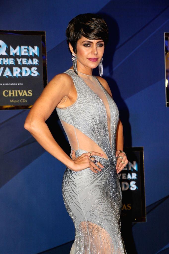 "Actress Mandira Bedi at the ""GQ Men of the Year Awards 2019"" in Mumbai on Sep 28, 2019. - Mandira Bedi"