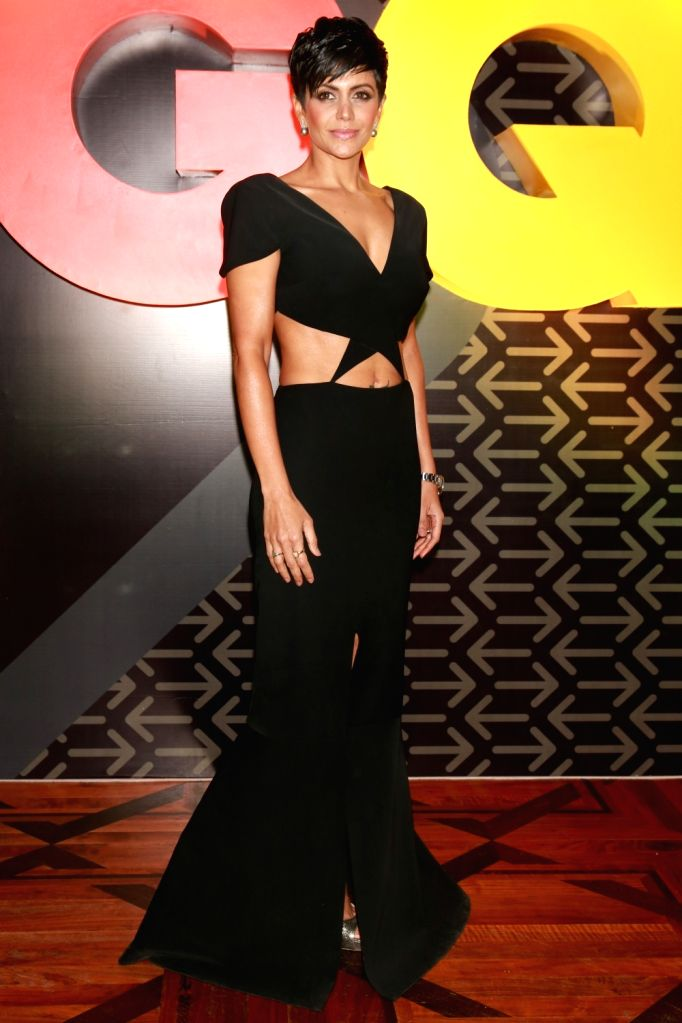 """Actress Mandira Bedi at the Red Carpet of """"The Most Influential Young Indians of 2016"""" organized by GQ, in New Delhi on July,02,21016 - Mandira Bedi"""