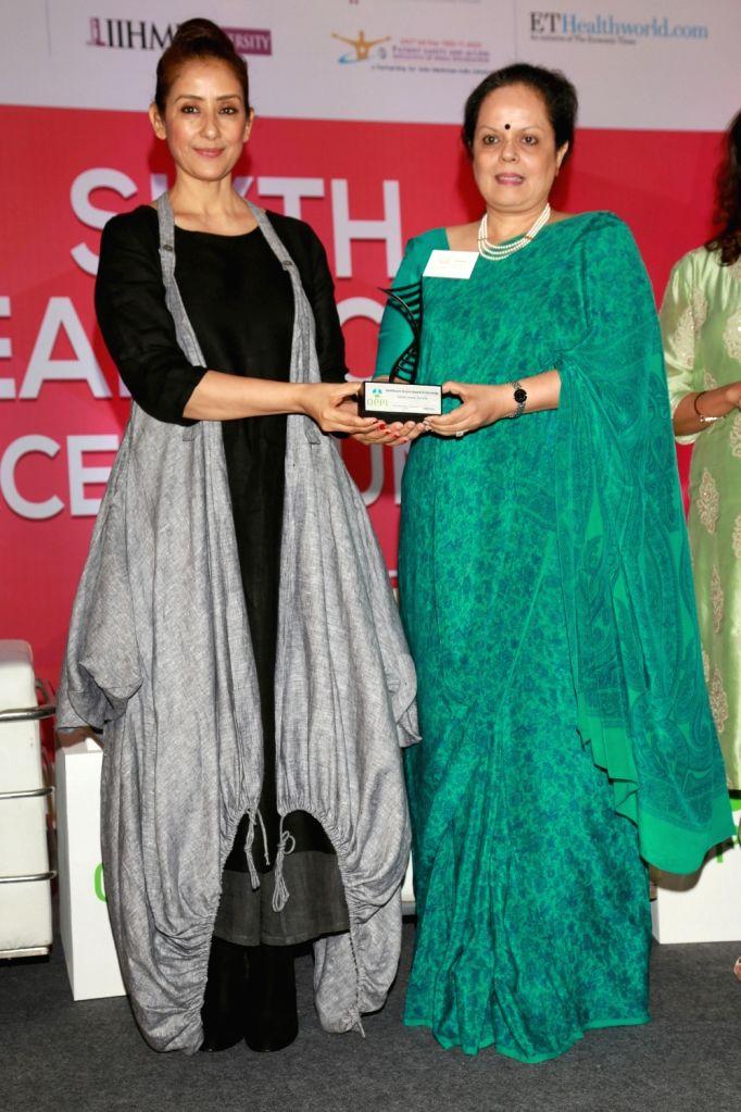 Actress Manisha Koirala during Sixth Healthcare Summit organised by Organisation of Pharmaceutical Producers of India (OPPI) in New Delhi, on June 9, 2017. - Manisha Koirala