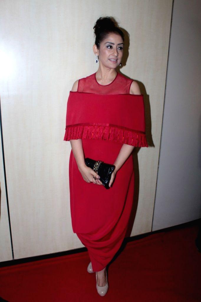 Actress Manisha Koirala during the Dada Saheb Phalke Academy Awards 2017 in Mumbai on June 1, 2017. - Manisha Koirala