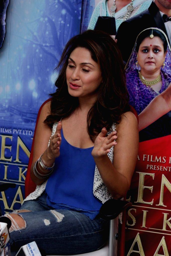 Actress Manjari Phadnis during an Interview For Film Jeena Isi Ka Naam Hai in Mumbai on Feb 27, 2017 - Manjari Phadnis