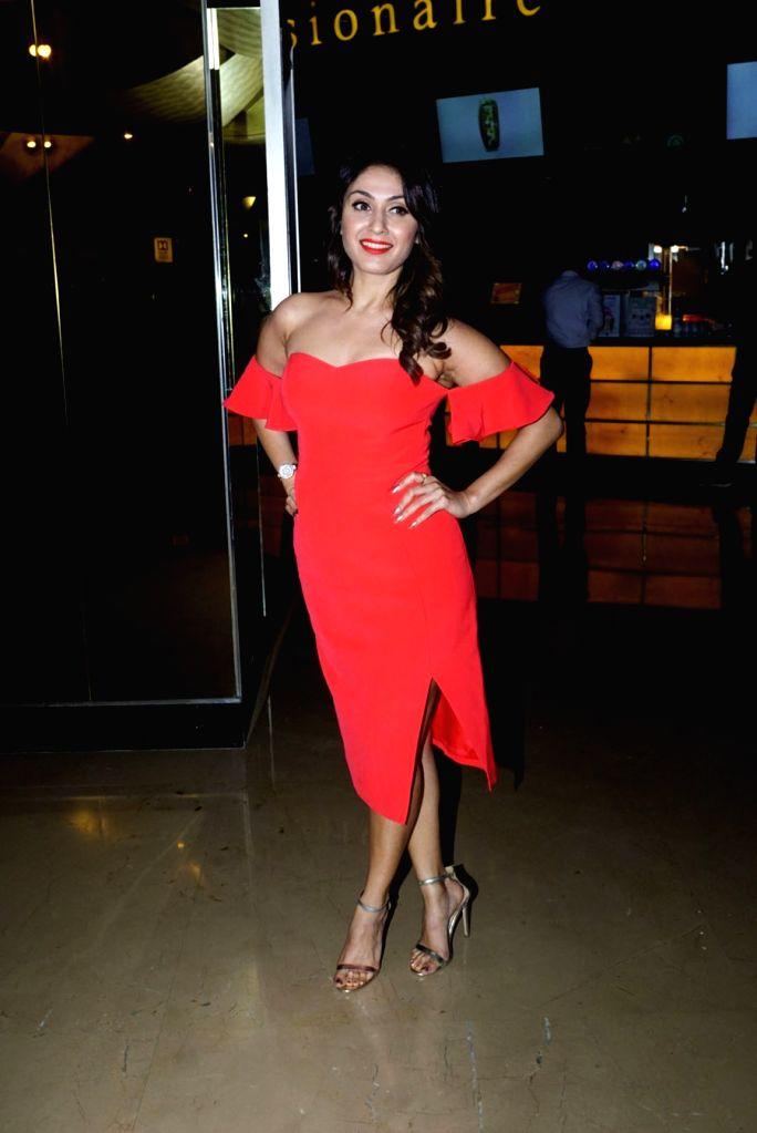 """Actress Manjari Phadnis special screening of film """"Nirdosh"""" in Mumbai on Jan 18, 2018. - Manjari Phadnis"""