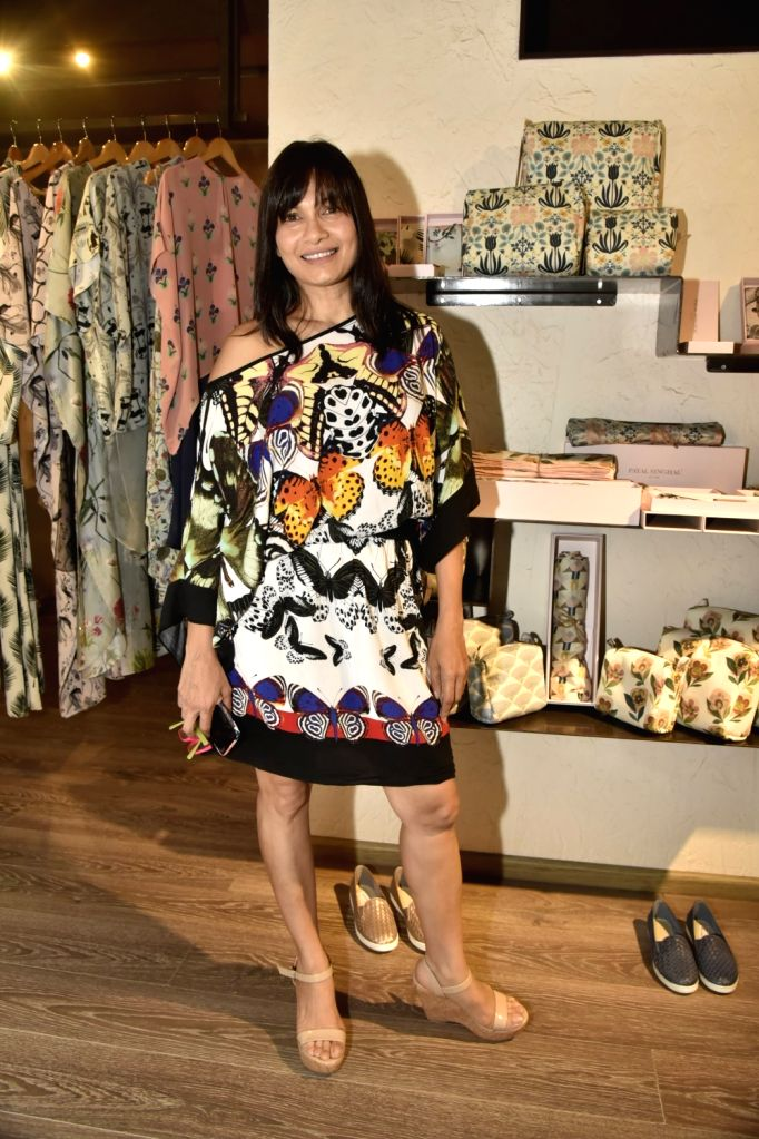 Actress Maria Goretti at Payal Singhal's print Bazaar collection launch in Mumbai on May 31, 2018. - Maria Goretti
