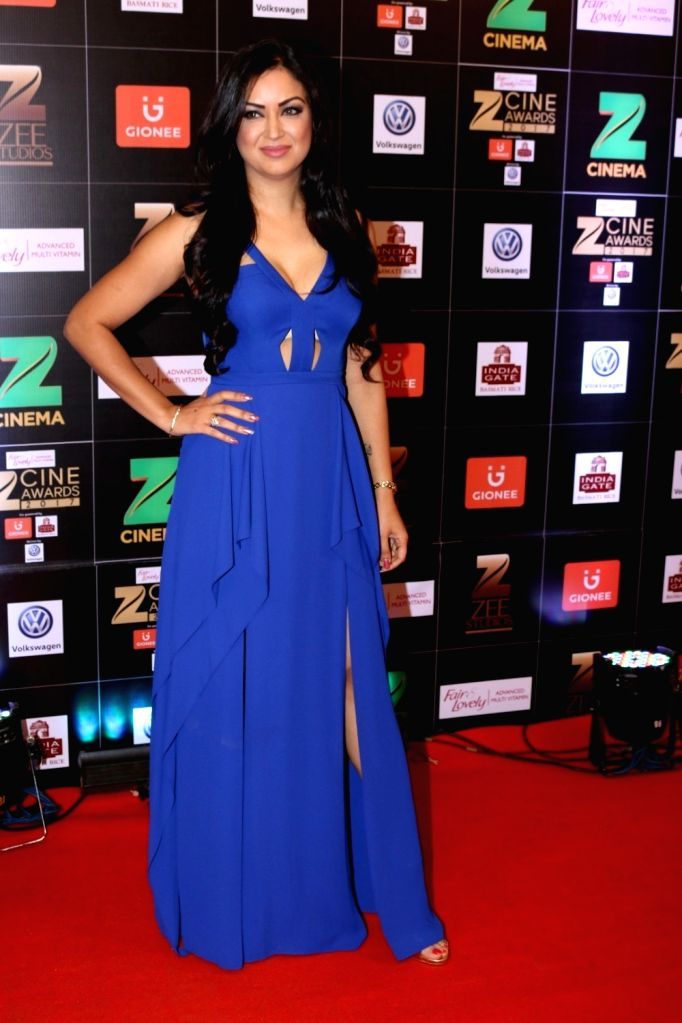 Actress Maryam Zakaria during the Fair & Lovely Zee Cine Awards 2017 in Mumbai on March 11, 2017. - Maryam Zakaria