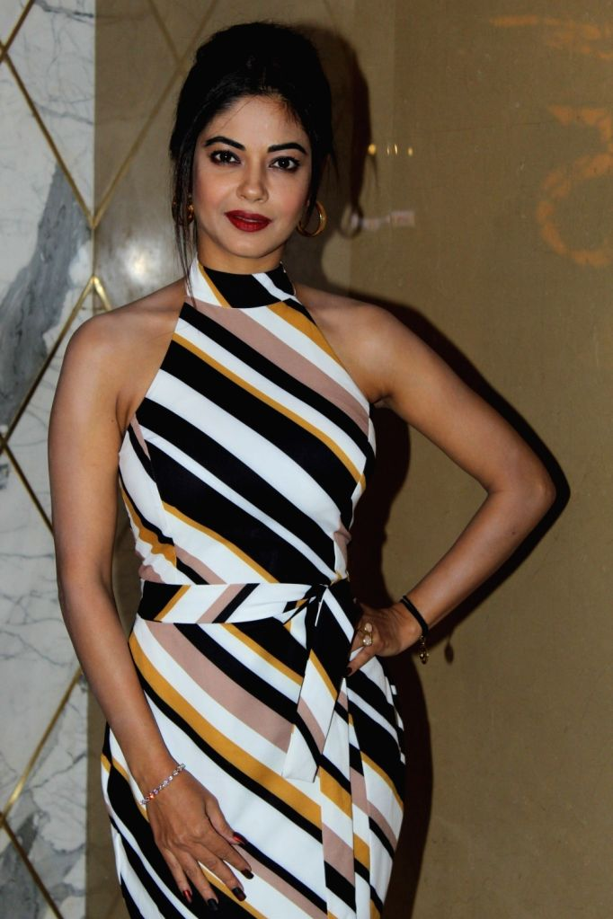 "Actress Meera Chopra at the trailer launch of her upcoming film ""Section 375"" in Mumbai on Aug 13, 2019. - Meera Chopra"
