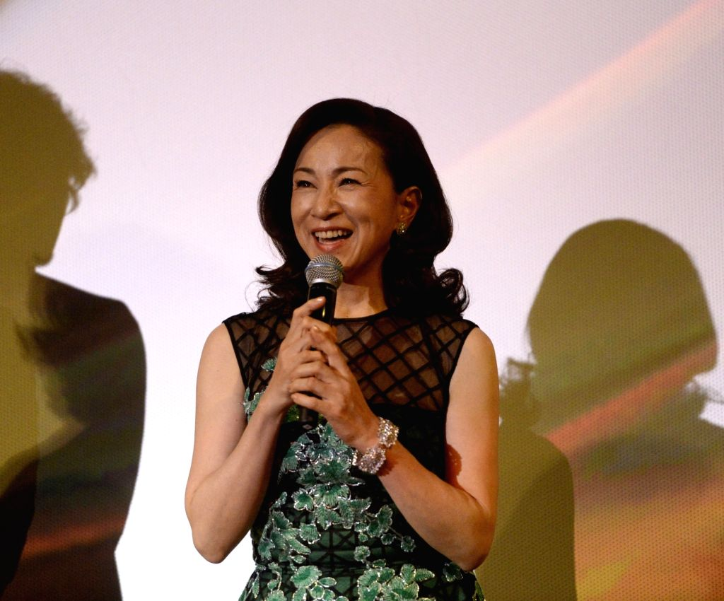 Actress Mieko Harada. (File Photo: Xinhua/Zhou Mi/IANS) - Mieko Harada
