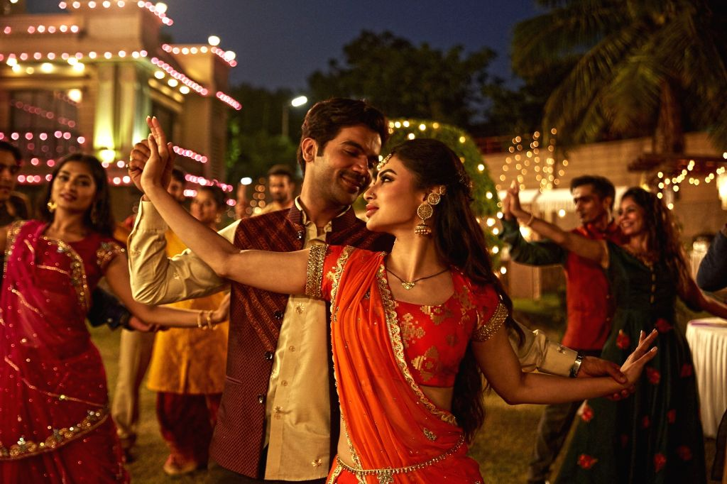 """Actress Mouni Roy says she learned a lot while working with Rajkummar Rao in """"Made in China"""", and helped her become a better version of herself. - Mouni Roy and Rajkummar Rao"""