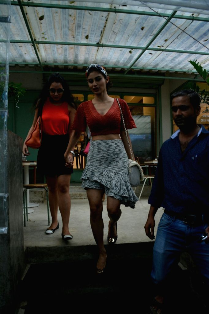 Actress Mouni Roy seen at Mumbai's Bandra on July 20, 2018. - Mouni Roy