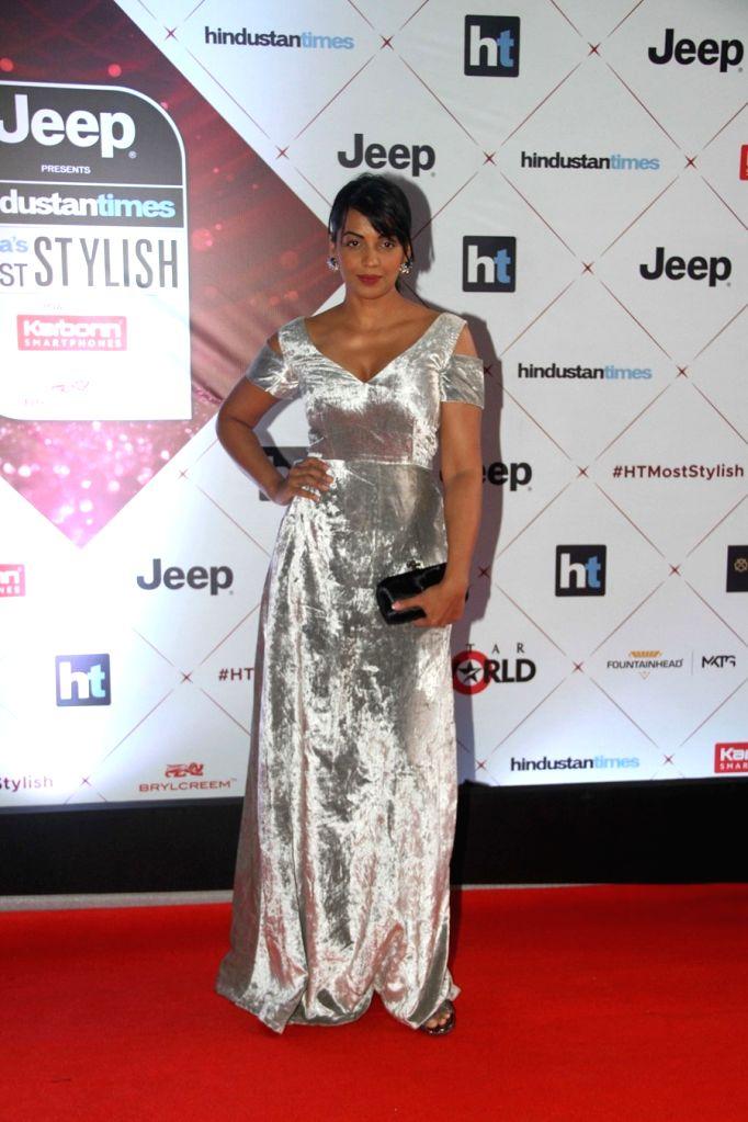 """Actress Mugdha Godse at the red carpet of """"HT India's Most Stylish Awards"""" in Mumbai on Jan 24, 2018. - Mugdha Godse"""