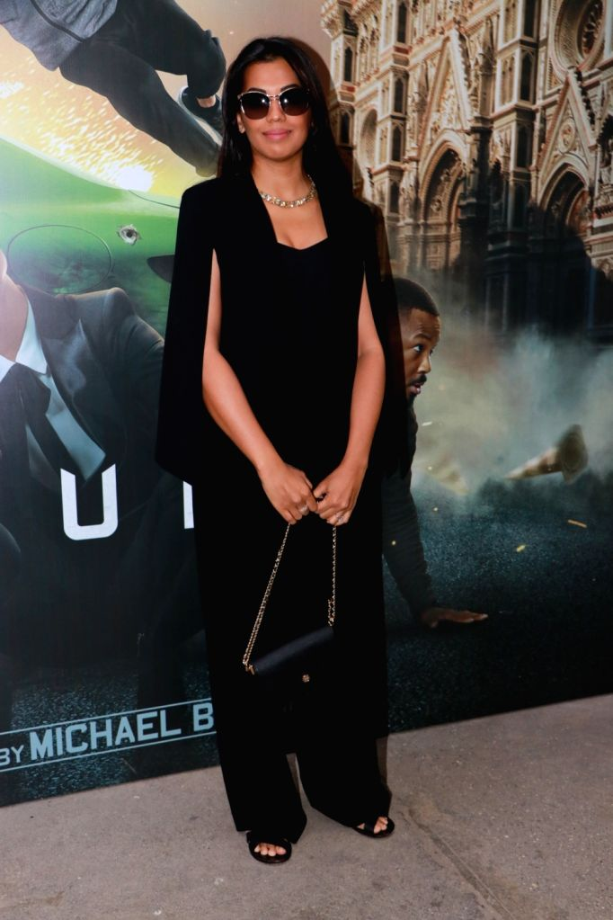 "Actress Mugdha Godse at the screening of their upcoming Netflix web series ""6 Underground"", in Mumbai on Dec 12, 2019. - Mugdha Godse"
