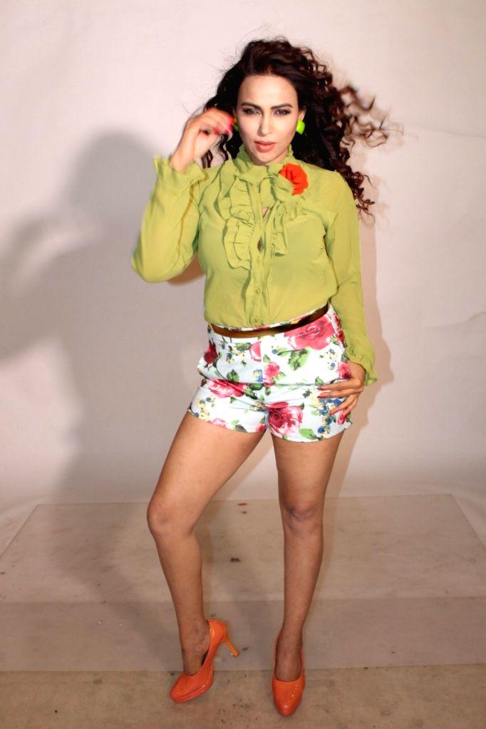 Actress Myrra Khan during Enlighten India Magazine Cover photo shoot in March 22, 2017. - Myrra Khan