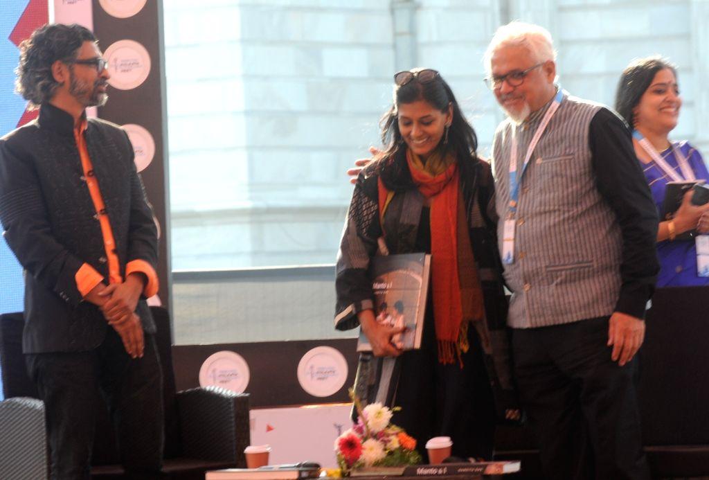 Actress Nandita Das at Kolkata Literary Meet, on Jan 24, 2020. - Nandita Das