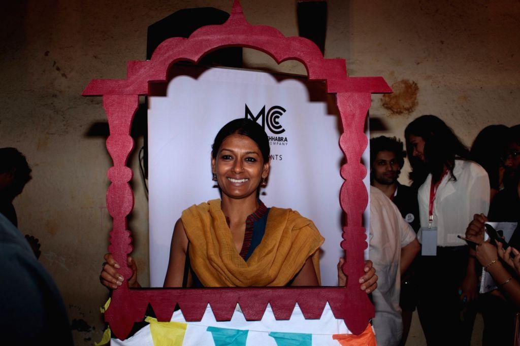 Actress Nandita Das during the Khidkiyaan Theatre Festival in Mumbai on January 17, 2016. - Nandita Das