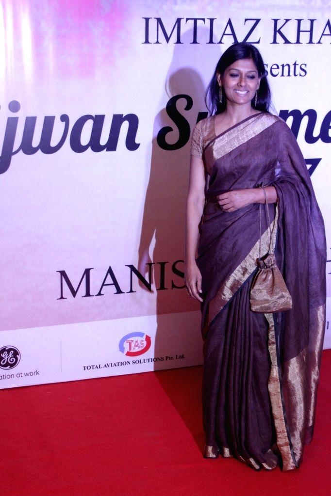 Actress Nandita Das during the Mijwan Summer 2017 fashion show during the Mijwan Summer 2017 fashion show in Mumbai on March 5, 2017. - Nandita Das